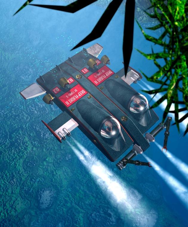 Mit dem Flugzeug zum tiefsten Punkt der Meere