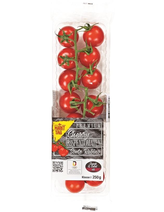 Markttag Premium Cherry Rispentomaten (© Netto-Marken-Discount)