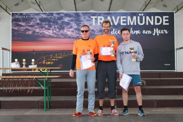Die drei Erstplatzierten im Hauptlauf. Michael Thiel, Jörg Zimmermann, Marvin Lindenau (v.l.n.r.)