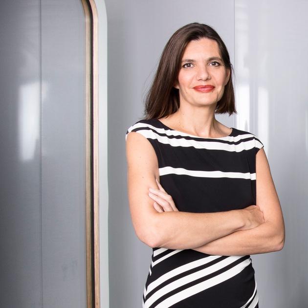 """Sophie Berrest übernimmt ab dem 1. September 2018 die Geschäftsführung von L'Oréal Schweiz und der Divison Luxusprodukte. Weiterer Text über ots und www.presseportal.ch/de/nr/100051682 / Die Verwendung dieses Bildes ist für redaktionelle Zwecke honorarfrei. Veröffentlichung bitte unter Quellenangabe: """"obs/L'Oréal Suisse SA/Marc Ninghetto"""""""