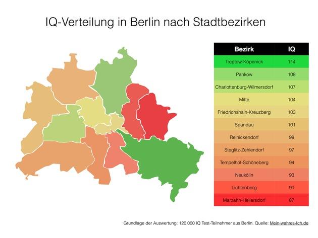 ▷ Treptow-Köpenick ist Berlins schlauester Bezirk ...