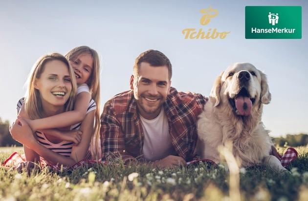 Tchibo und HanseMerkur kooperieren: Versicherungen mit 100 Tage Geld-zurück-Garantie