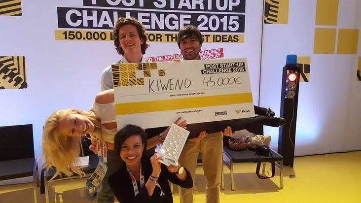 Gesundheits-Startup kiweno gewinnt Austrian Post Startup Challenge - BILD
