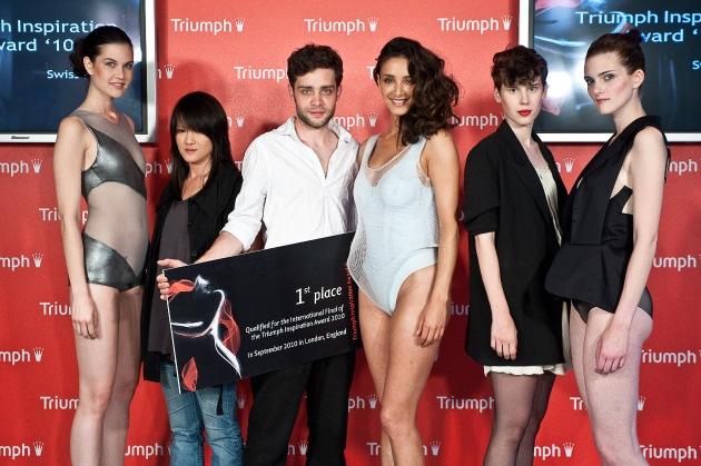 Triumph Inspiration Award 2010 Swiss Final - Benjamin Blarer (25) aus Basel gewinnt die Schweizer Ausscheidung des Triumph Inspiration Award 2010