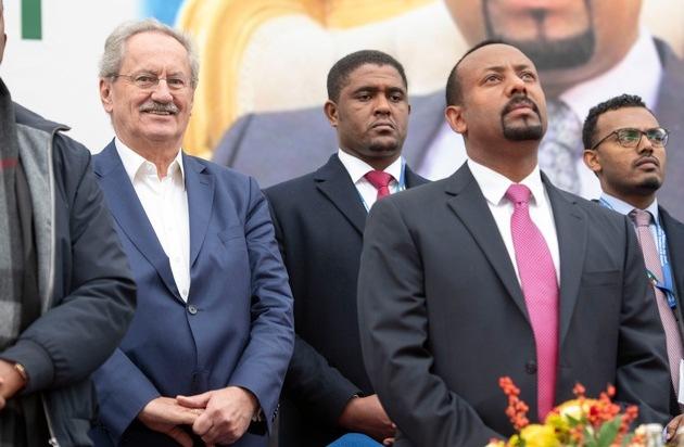 Menschen für Menschen gratuliert Abiy Ahmed zum Friedensnobelpreis / Christian Ude hofft auf weitere Friedensinitiativen in Afrika