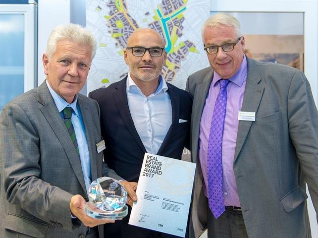 BPD gewinnt Real Estate Brand Award in der Kategorie Projektentwickler Wohnbau