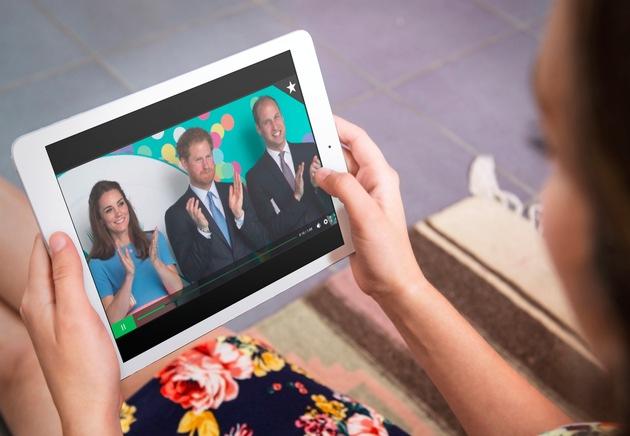 Royal Video: dpa kooperiert mit dana press photo