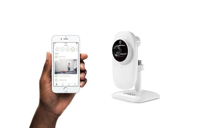 smart home anbieter coqon ver ffentlicht separate app f r kameras presseportal. Black Bedroom Furniture Sets. Home Design Ideas