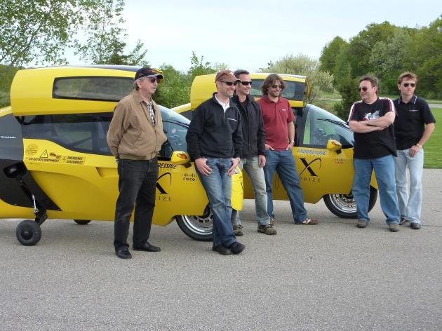 X-Tracer Team Switzerland hat SHAKEDOWN STAGE zum Automotive X-PRIZE in USA erfolgreich bestanden