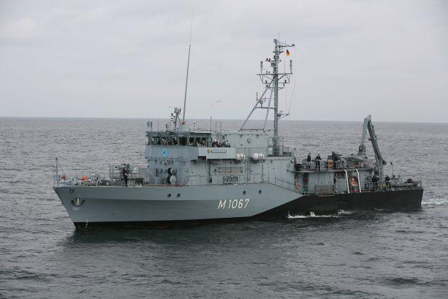 """Marine: Pressemitteilung / Pressetermin: Minenjagdboot """"Bad Rappenau"""" bricht ins Mittelmeer auf"""