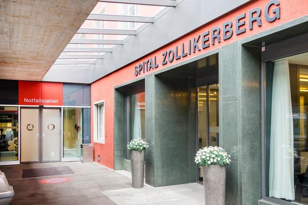 Spital Zollikerberg zieht erneut eine positive Jahresbilanz