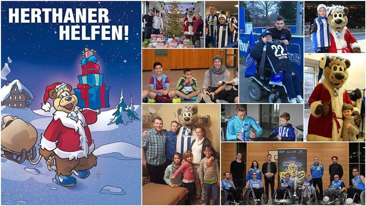 Weihnachtsaktion: Herthaner helfen!