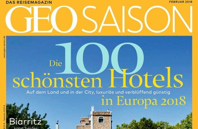 Geo Saison Hotel Ranking 2018 Die 100 Schönsten Hotels In Europa