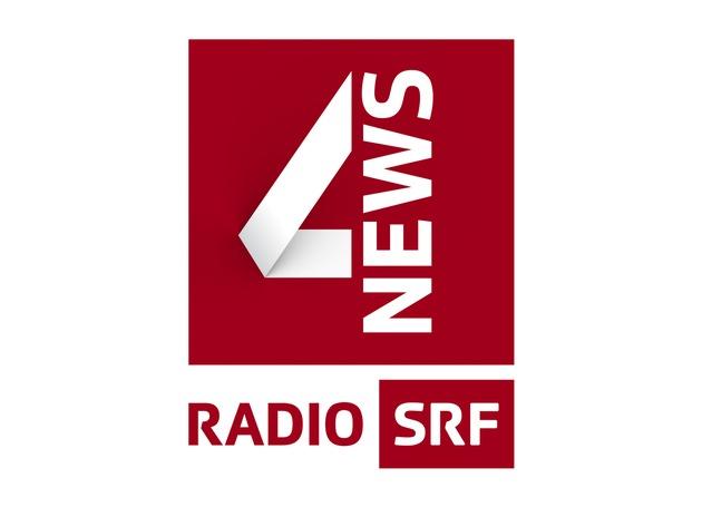 """Radio SRF 4 news Logo  Copyright: SRF NO SALES NO ARCHIVES  Die Veröffentlichung im Zusammenhang mit Hinweisen auf die Programme von Schweizer Radio und Fernsehen ist honorarfrei  und muss mit dem Quellenhinweis erfolgen. Jede weitere Verwendung ist honorarpflichtig, insbesondere auch der Wiederverkauf. Das Copyright bleibt bei Media Relations SRF. Wir bitten um Belegexemplare. Bei missbräuchlicher Verwendung behält sich das Schweizer Radio und Fernsehen zivil- und strafrechtliche Schritte vor. Weiterer Text über ots und www.presseportal.ch/de/nr/100054664 / Die Verwendung dieses Bildes ist für redaktionelle Zwecke honorarfrei. Veröffentlichung bitte unter Quellenangabe: """"obs/Publikumsrat SRG Deutschschweiz/SRF/Logo"""""""