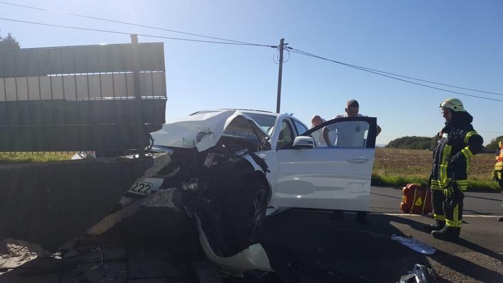Verkehrsunfall zwischen Herkenrath und Hand