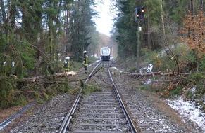 Unfallstelle EVB-Strecke