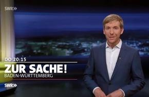 """Überlässt Staat Armutsproblem den Ehrenamtlichen? """"Zur Sache Baden-Württemberg"""", SWR Fernsehen"""
