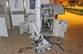 geldautomaten sprengung