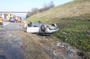 A60 schwerer Unfall