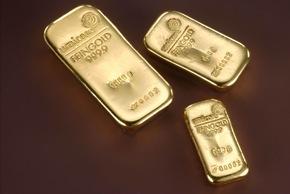 """Über Jahrzehnte stand der Name """"Degussa"""" für den Handel mit Gold und anderen Edelmetallen. Umicore hat sich nun entschlossen, ab dem 1. Januar 2006 den traditionellen Degussa- Prägestempel durch ihr eigenes Logo für Edelmetallbarren zu ersetzen. Die Verwendung dieses Bildes ist für redaktionelle Zwecke honorarfrei. Abdruck bitte unter Quellenangabe: """"obs/Umicore AG & Co. KG"""""""