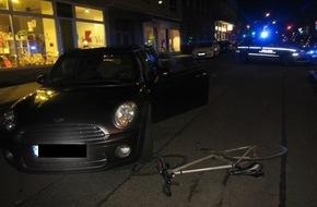 Radfahrer verletzt