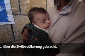 """Humanitäre Katastrophe im Jemen: Die Not wächst jede Minute / """"Aktion Deutschland Hilft"""" schlägt Alarm, doch Spendengelder bleiben aus"""