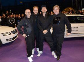 SKODA fuhr die Stars zum ECHO 2014