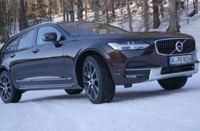 Marktstart für den Volvo V90 Cross Country: Stilvoll ins Abenteuer