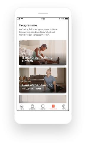 """Cleo MS app Programme. Weiterer Text über ots und www.presseportal.de/nr/102449 / Die Verwendung dieses Bildes ist für redaktionelle Zwecke honorarfrei. Veröffentlichung bitte unter Quellenangabe: """"obs/Biogen GmbH"""""""