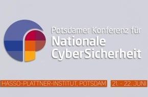 IT- und Cybersicherheit im Fokus: Potsdamer Konferenz für Nationale CyberSicherheit 2018