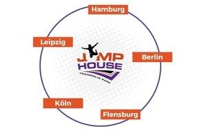 Erfolgssprungbrett Trampolinparks: JUMP House nominiert für Deutschen Gründerpreis 2017