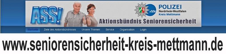 Symbolbild: Hinweis auf die Internetpräsenz der Mettmanner ASS'e