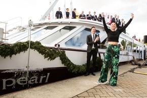 In Basel getauft - Das Schweizer Flussschiff Excellence Pearl