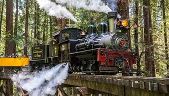Roaring Camp Railroads - Photo Credit Kenny Karst