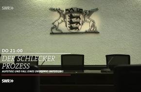 """Der Fall Schlecker """"Der Schlecker-Prozess: Aufstieg und Fall eines Drogerie-Imperiums"""", Donnerstag, 2. März 2017, 21 bis 21.45 Uhr im SWR Fernsehen"""
