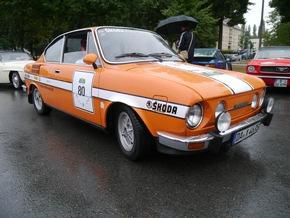 Kultautos bei Kult-Rallye: Sechs SKODA Ikonen starten bei Sachsen Classic 2015