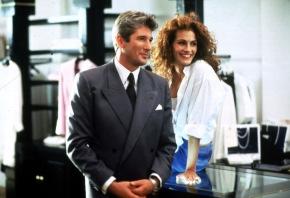 FILMFILM: Pretty Woman, Romantic Comedy, USA, 1989, Sendetermin: Montag, den 03.10.2005 um 20.15 Uhr in Sat.1. Aus der anfänglichen Geschäftsbeziehung wird innerhalb einer Woche eine leidenschaftliche Affäre. Doch das Straþenmädchen (Julia Roberts, r.) und den Millionär (Richard Gere, l.) trennen Welten ... Foto: Sat.1/© Buena Vista Pictures. Abdruck honorarfrei nur im Zusammenhang mit dem Sat.1-Sendetermin