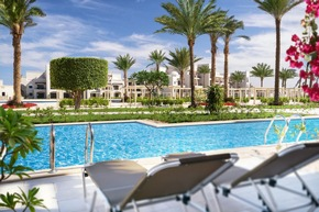 "press release: ""Luxury beach resort in Egypt: Steigenberger Alcazar-Sharm El Sheikh opened its doors"""