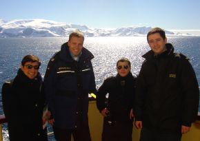 Deutsche Marine - Bilder der Woche: Deutscher Austauschoffizier im Ewigen Eis