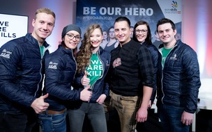 BILD zu OTS - EuroSkills 2020-Heroes mit Andreas Gabalier