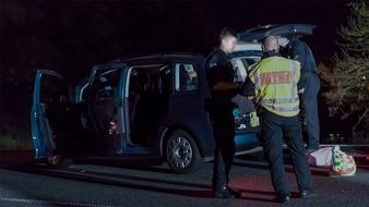 Kontrollen auch in der Nacht - Sind potentielle Straftäter in Mittelhessen unterwegs?