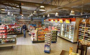 """Hamburg: Im Inneren der Aral Tankstelle befindet sich der Shopbereich. +++ Shopbereich; Aral; Aral Tankstellen; Hamburg +++ Die Verwendung dieses Bildes ist für redaktionelle Zwecke honorarfrei. Veröffentlichung bitte unter Quellenangabe: """"obs/BP Europa SE"""""""