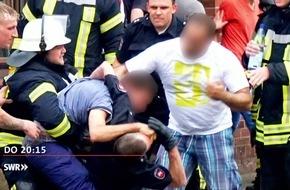 """Zunehmende Gewalt gegen Rettungskräfte: """"Zur Sache Baden-Württemberg"""", SWR Fernsehen"""