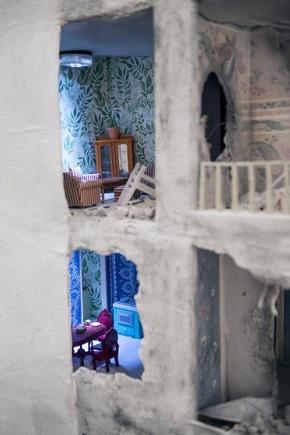 Blick in die Wohnungen des Gebäudes. Foto: Nika Kramer (Abdruck honorarfrei)
