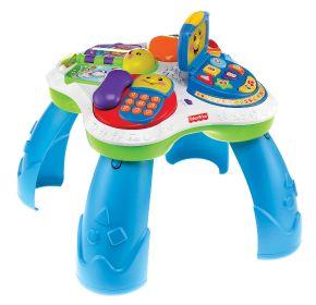 """Fisher-Price Lernspaß Tisch - Das Fisher-Price Testprogramm zeigt, was Eltern rund um den Spielzeugkauf beschäftigt Die Verwendung dieses Bildes ist für redaktionelle Zwecke honorarfrei. Veröffentlichung bitte unter Quellenangabe: """"obs/Mattel GmbH"""""""