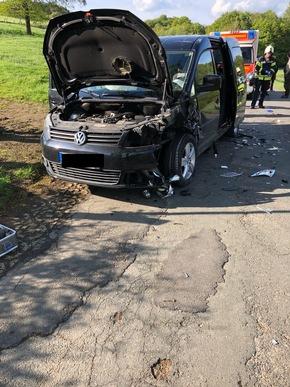 In dem schwarzen Van saß eine 36-jährige Mutter mit ihren drei Kindern.