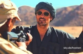 """Sky 1 geht ab kommenden Dienstag mit der eigenproduzierten Abenteuerserie """"Hooten & The Lady"""" auf globale Schatzsuche"""