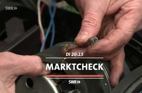 """Lebensdauer von Elektrogeräten immer kürzer - Absicht? """"Marktcheck"""", SWR Fernsehen"""