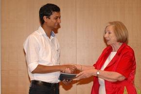 zweiter 3. Preis an Saurabh Divekar Foto: Reiner, HSS