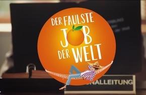 Bewerber gesucht: Der faulste Job der Welt